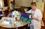 Cindy taught the Zippered Project Bag at 2016 Spring Fling